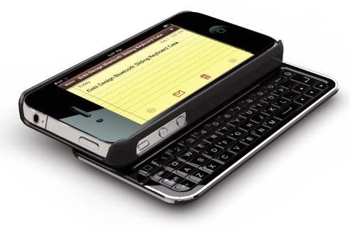 iPhone com teclado físico