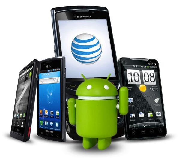 Aparelhos equipados com Android