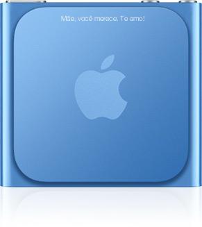 iPod shuffle personalizado - Dia das Mães