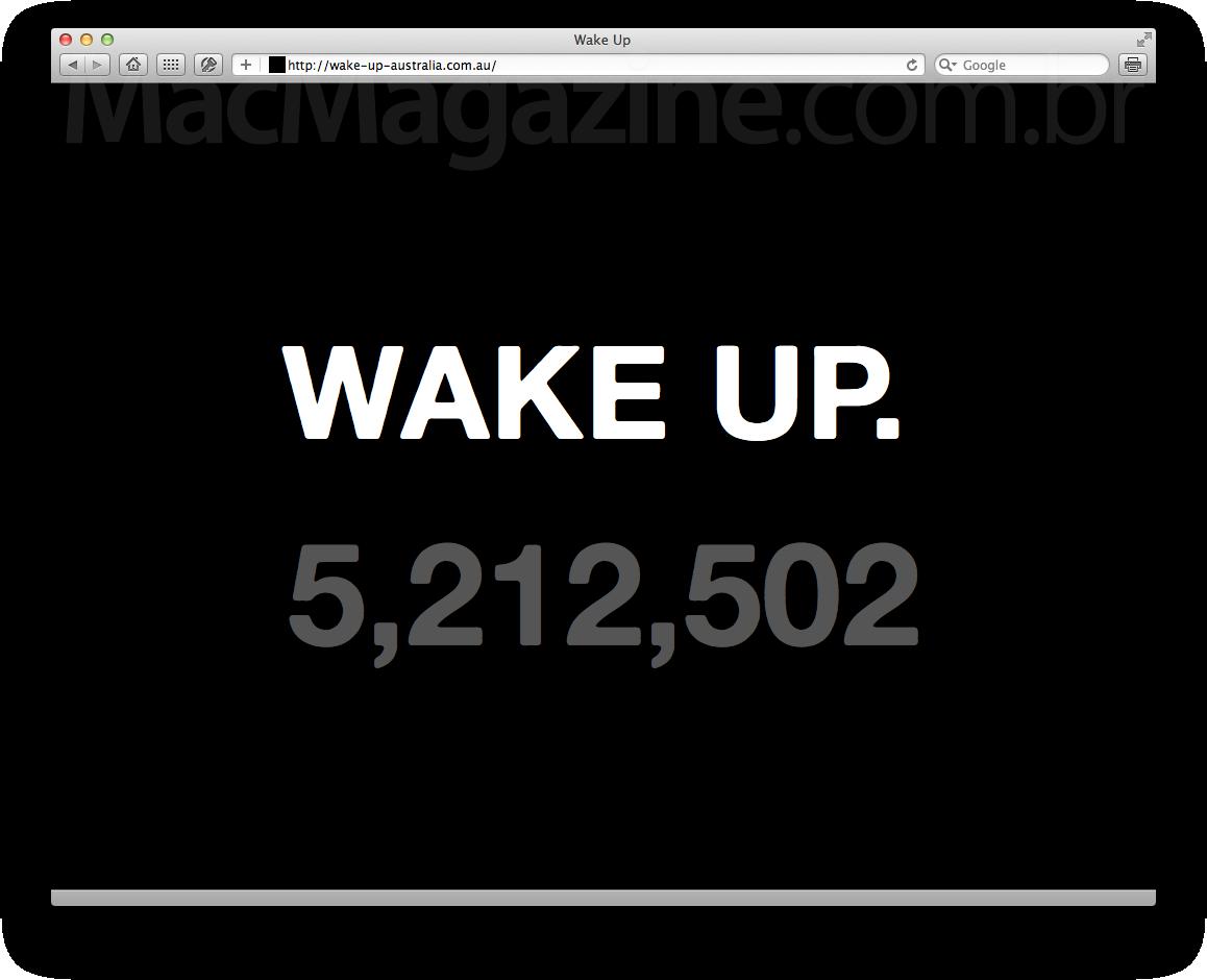 Teaser WAKE UP