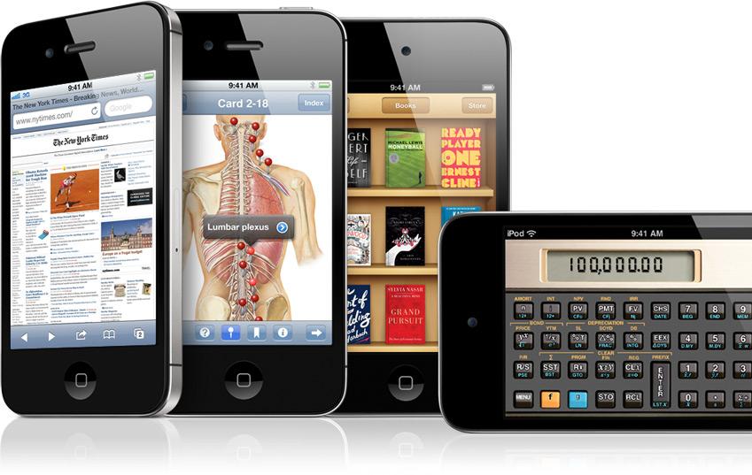 iPhones e iPods touch - Educação