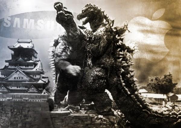 Samsung vs. Apple - Godzilla