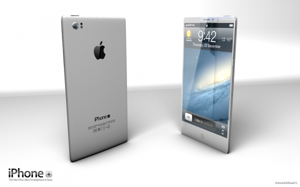 Conceito de iPhone Plus