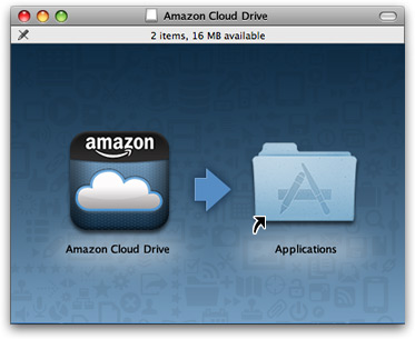 Amazon Cloud Drive no Mac OS X