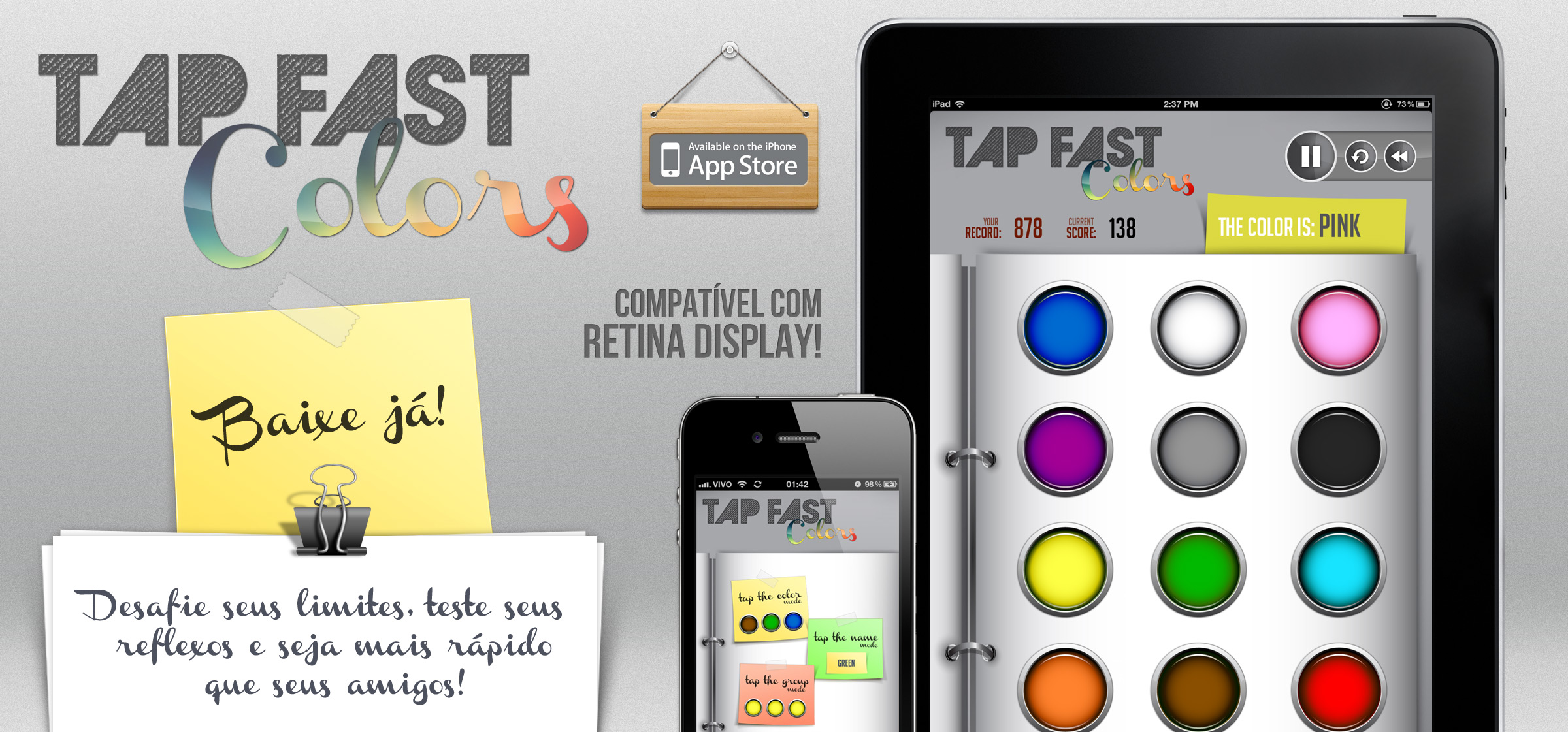 Tap Fast para iOS