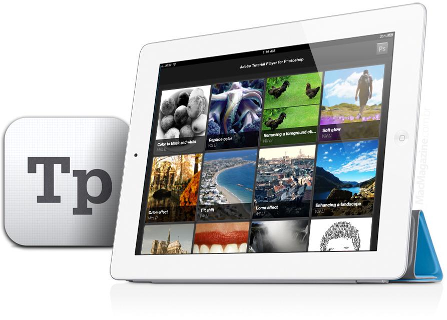 Adobe Tutorial Player for Photoshop - iPad