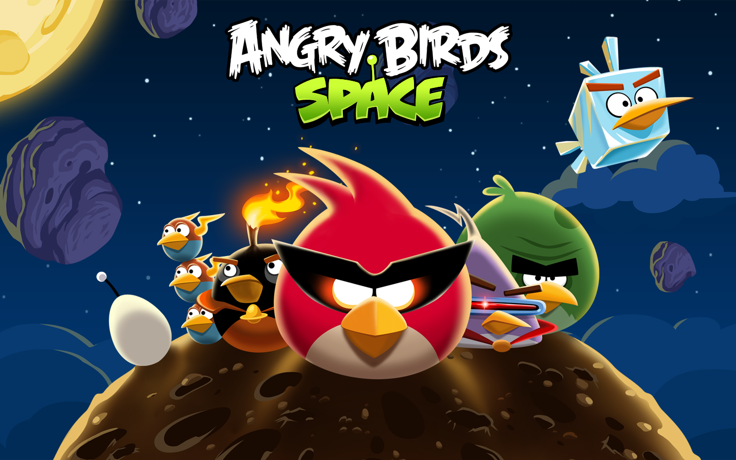 Angry Birds Space - Mac