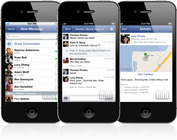 Facebook Messenger - iPhones