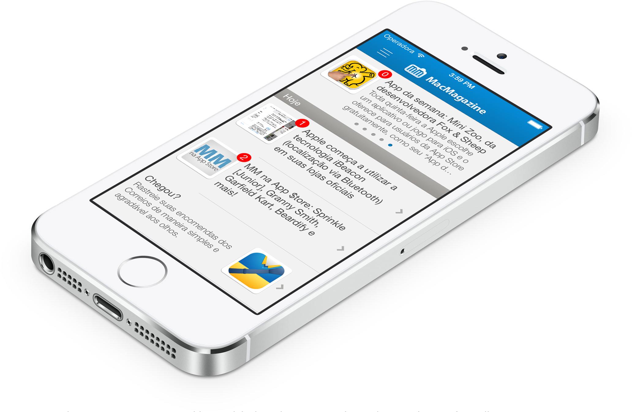 Exemplo de App Patrocinado