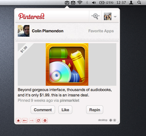 Pin Pro for Pinterest - Mac OS X