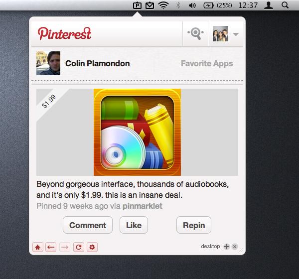 Pin Pro for Pinterest - Mac OS X