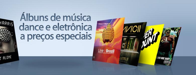 Álbuns de música dance e eletrônica - iTunes Store