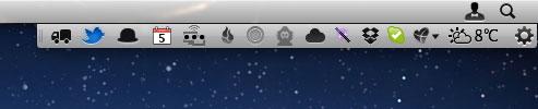 Bartender - Mac OS X