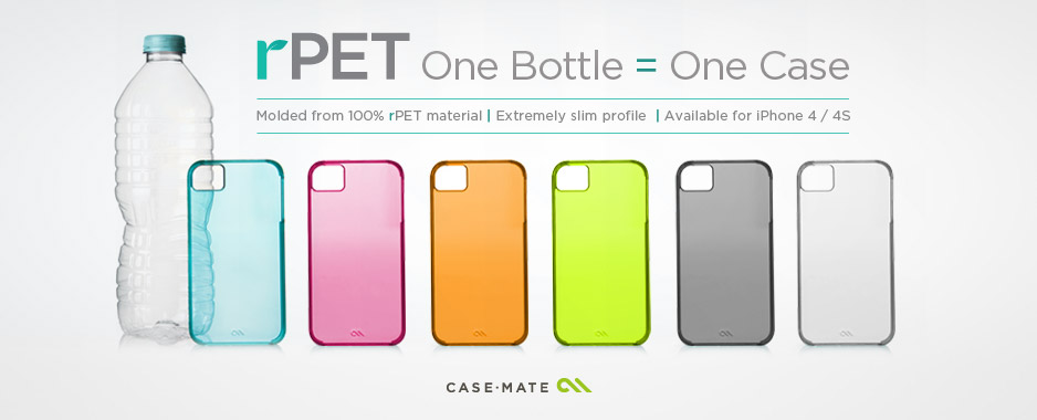 Cases recicladas da Case-Mate