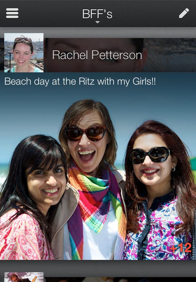 Google Plus no iPhone com novo visual