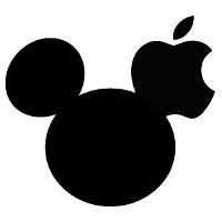Logo Disney (Mickey)/Apple