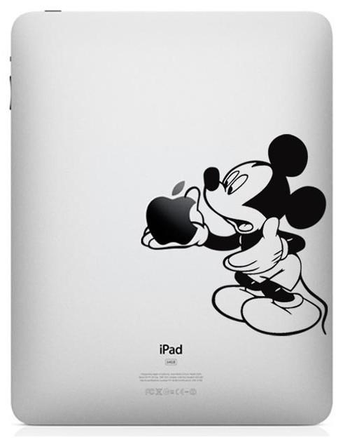 Mickey em iPad