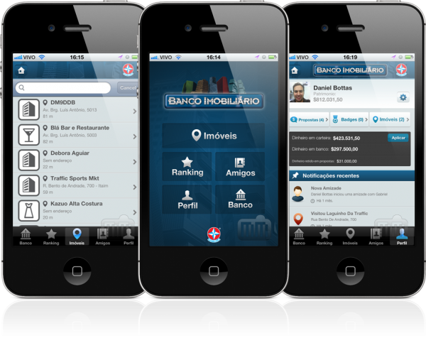 Banco Imobiliário Geolocalizado - iPhones