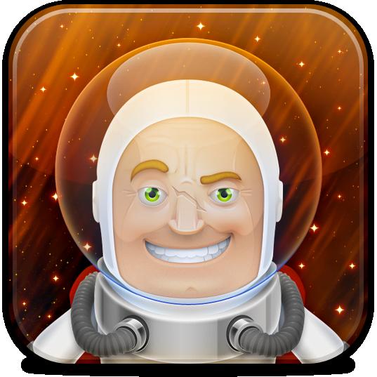 Ícone do Astronut para iPad