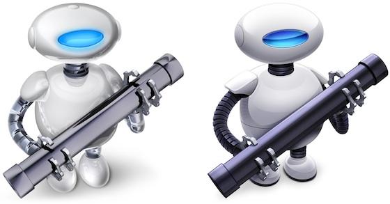 Ícones do Automator