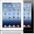 Novos iPads (branco e preto)