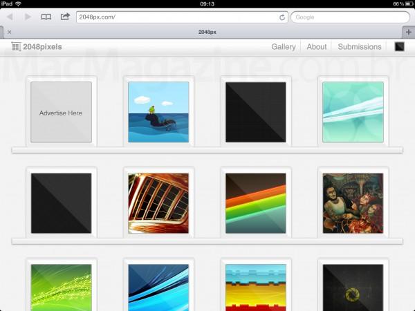 2048pixels - Wallpapers para iPad