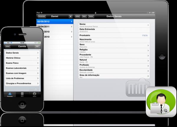 Anamnese - iPad e iPhone