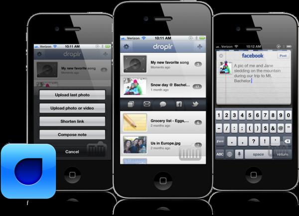 Droplr para iOS
