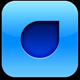 Ícone do Droplr para iOS