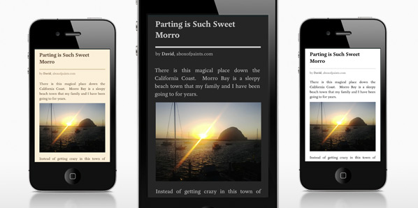 Pocket 4.1 em iPhones