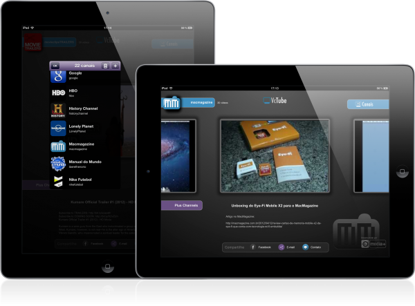 VcTube - iPads