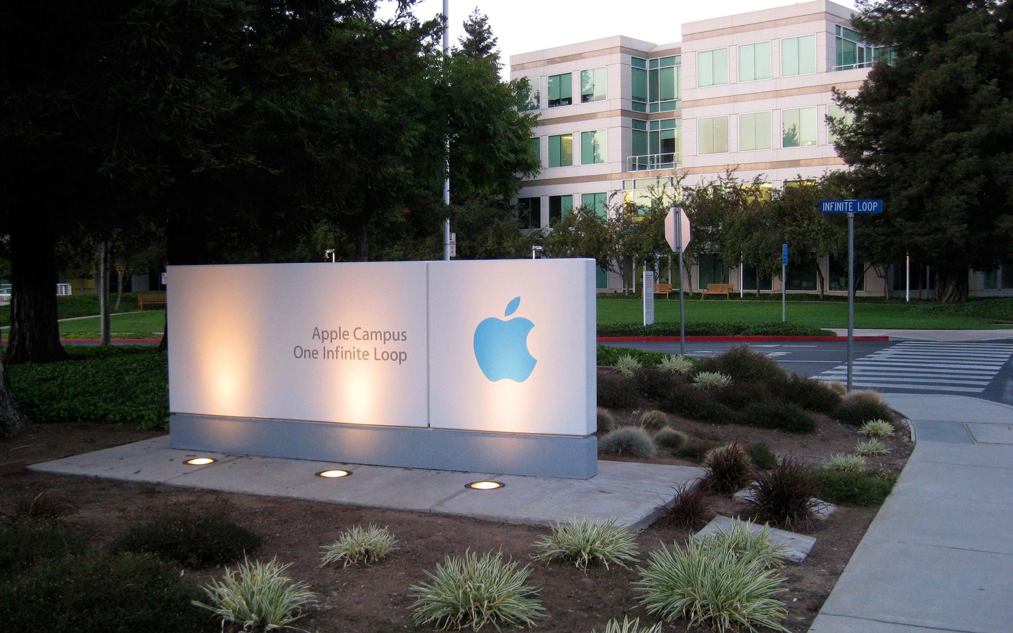 Campus da Apple em Cupertino