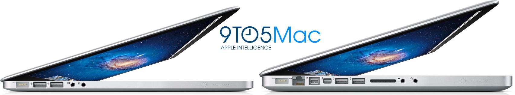 Mockup de novos MacBooks Pro mais finos