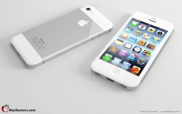 Mockup do novo iPhone com tela mais alta
