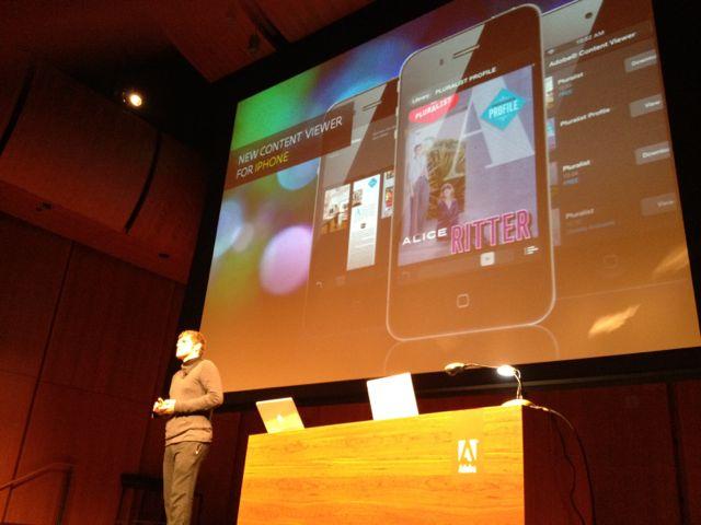 Adobe DPS para iPhone