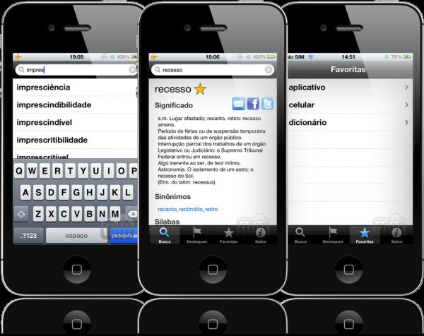 Dicionário de Português - iPhones