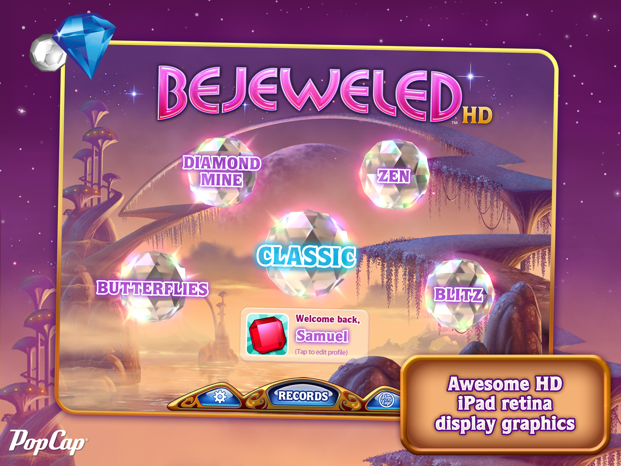 Bejeweled HD - iPad