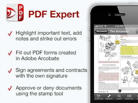 PDF Expert - iPhone
