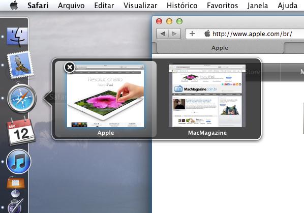HyperDock no Mac OS X