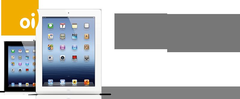 Novo iPad na Oi