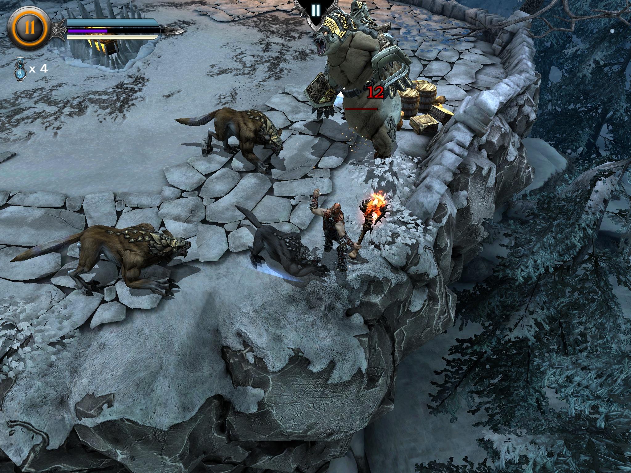 Screenshot de Infinity Blade: Dungeons