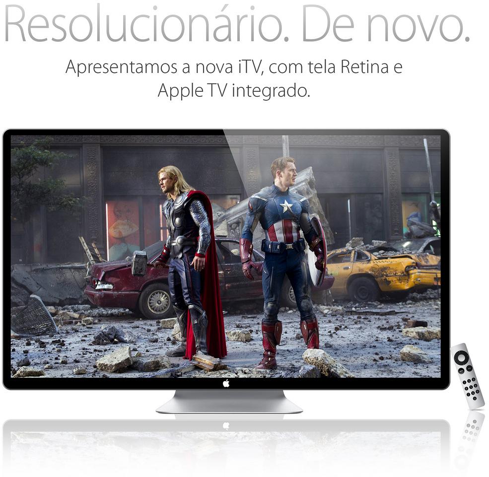 Mockup da iTV - por Arthur Reis