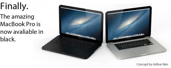 Mockup de MacBook Pro preto - por Arthur Reis