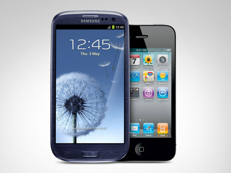 Galaxy S III vs. iPhone 4S
