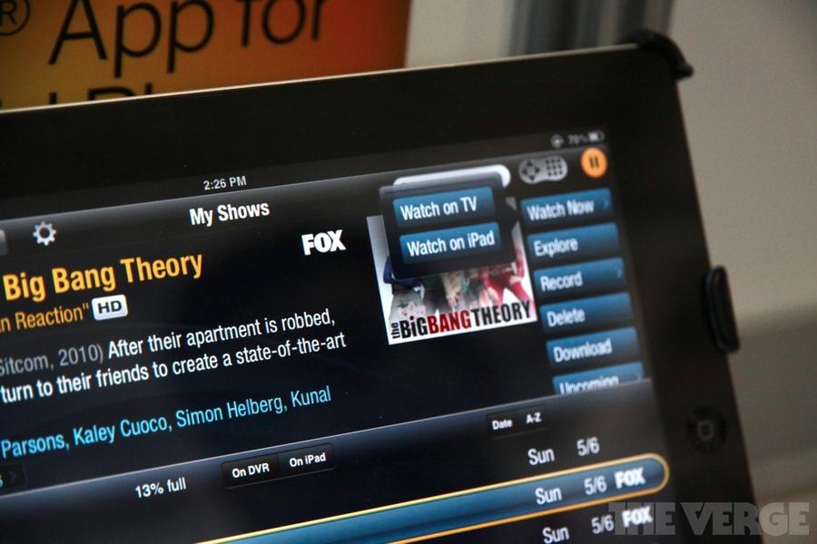 TiVo no iPad