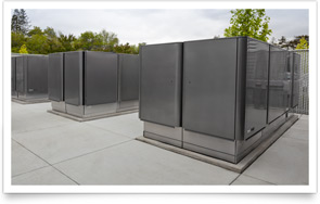 Células de combustível (fuel cells) da Bloom Energy - Apple