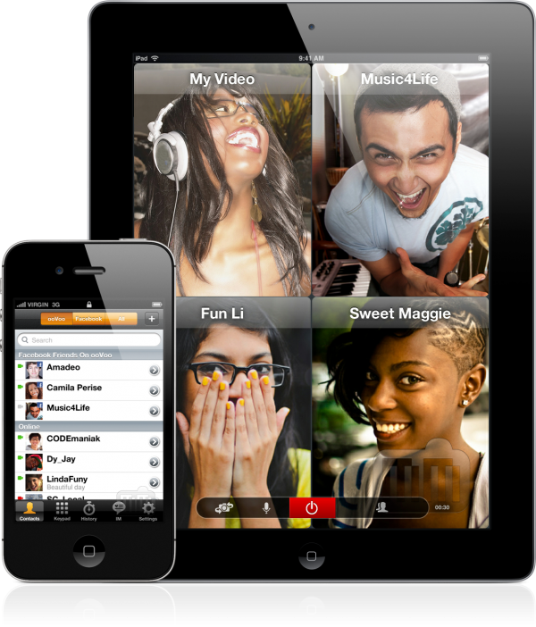 ooVoo - iPad e iPhone
