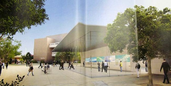 Rendering da futura Apple Store, Stanford