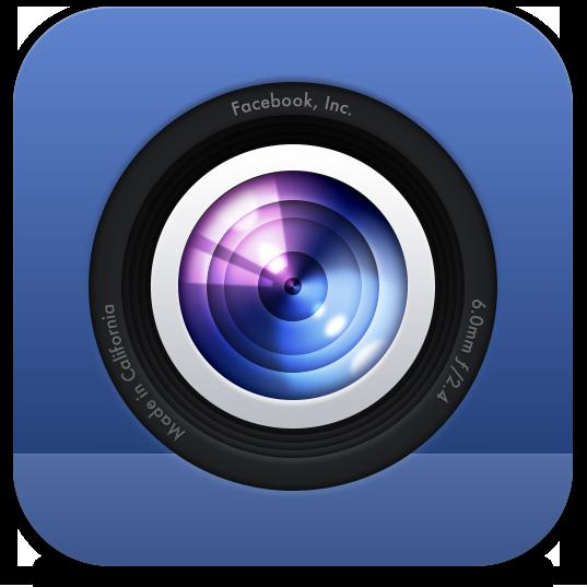 Ícone - Facebook Camera