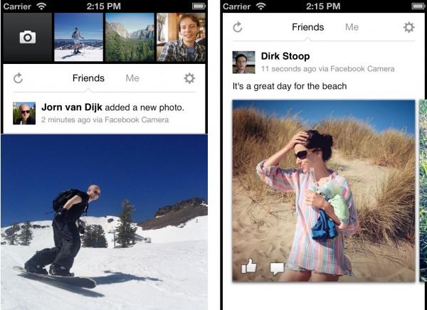 Facebook Camera - iPhone